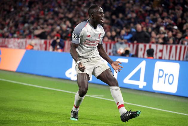 Bayern Munich v Liverpool - UEFA Champions League - Round of 16 - Second Leg - Allianz Arena