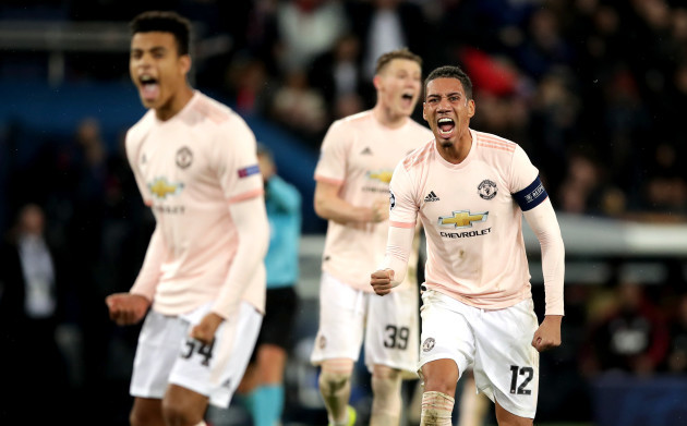 Paris Saint-Germain v Manchester United - UEFA Champions League - Round of 16 - Second Leg - Parc des Princes