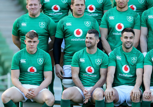 John Ryan, CJ Stander, Garry Ringrose, Rob Kearney and Conor Murray