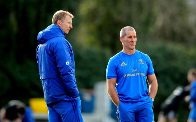 Leo Cullen and Stuart Lancaster
