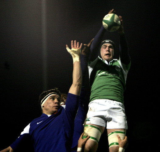 Ireland's Andrew Browne with Seve Dorian of France