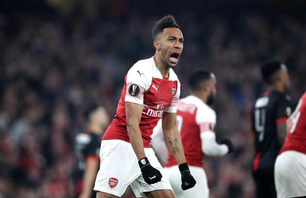 Arsenal v Rennes - UEFA Europa League - Round of 16 - Second Leg - Emirates Stadium