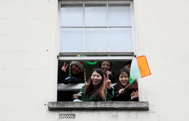 St Patrick's Day celebrations 2018