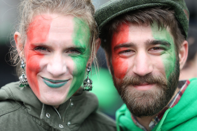 St Patrick's Day celebrations 2017