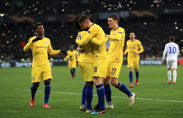 Dynamo Kiev v Chelsea - UEFA Europa League - Round of 16 - Second Leg - NSC Olimpiyskiy