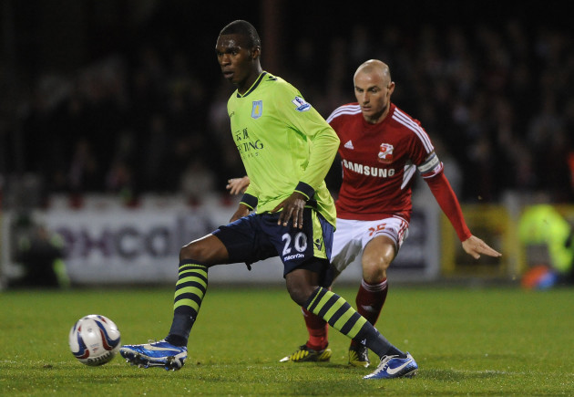 Soccer - Capital One Cup - Fourth Round - Swindon Town v Aston Villa - County Ground