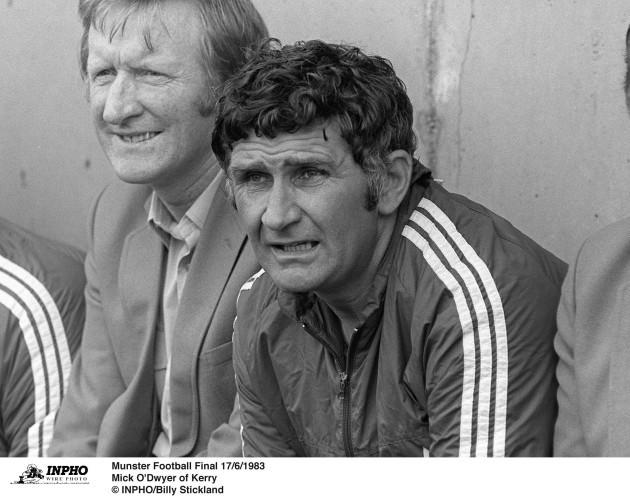 Mick O'Dwyer 17/6/1983