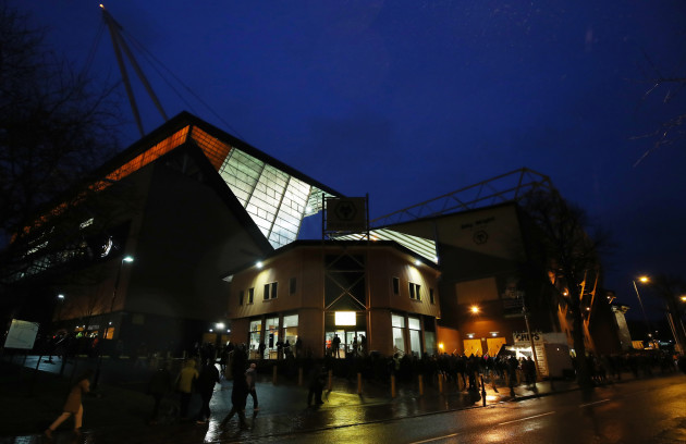 Wolverhampton Wanderers v Manchester United - FA Cup - Quarter Final - Molineux