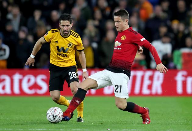 Wolverhampton Wanderers v Manchester United - FA Cup -  Quarter Finals - Molineux