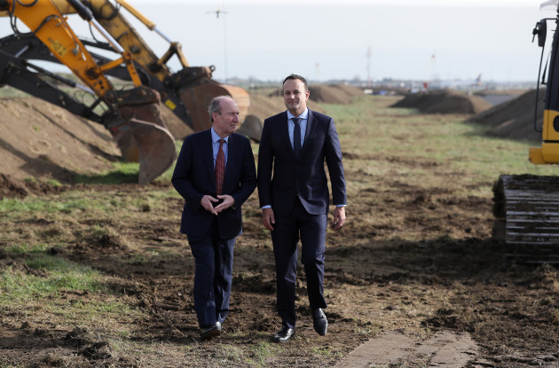 Official Sod-Turning ceremony for new Dublin Airport runway