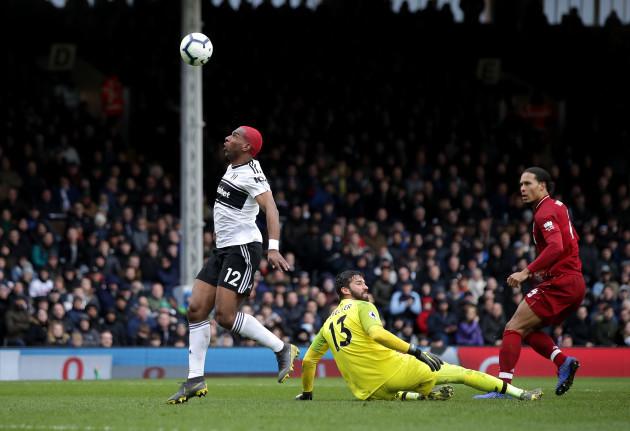 Fulham v Liverpool - Premier League - Craven Cottage