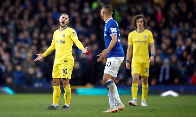 Everton v Chelsea - Premier League - Goodison Park