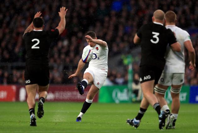 England v New Zealand - Quilter International - Twickenham Stadium