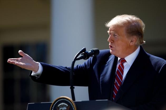 U.S.-WASHINGTON D.C.-TRUMP-BRAZIL-PRESIDENT-PRESS