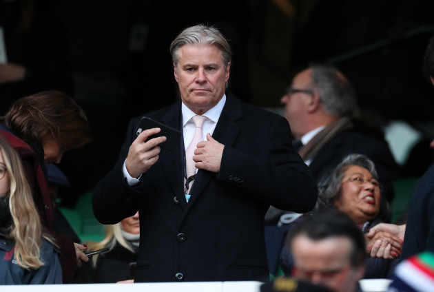 Brett Gosper Chief Executive World Rugby