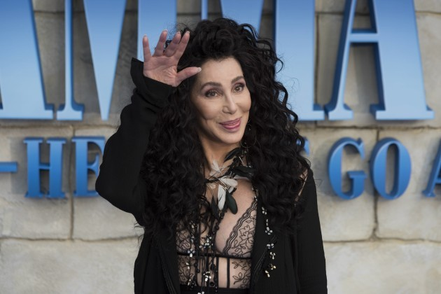 Cher attends Mamma Mia! Here We Go Again - World Premiere. London, UK. 16/07/2018