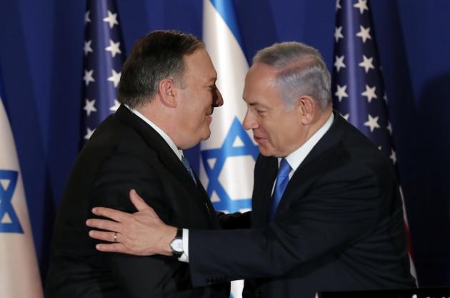 USA-POMPEO/ISRAEL