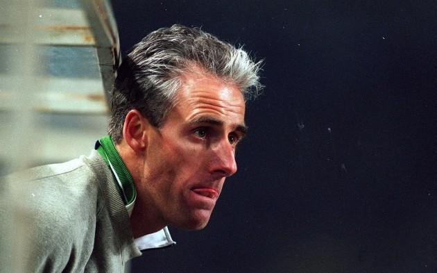 Mick McCarthy Republic of Ireland Soccer Squad 1996