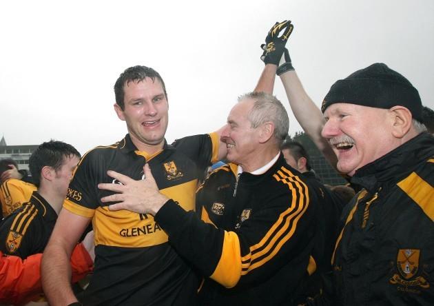 Eoin Brosnan celebrates