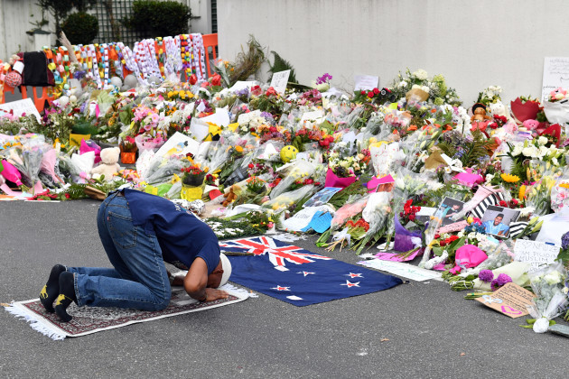 CHRISTCHURCH MOSQUE SHOOTING