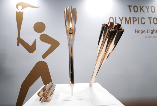 Japan Olympics Torch