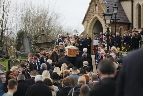 Funeral of Greenvale Hotel tragedy victim Lauren Bullock