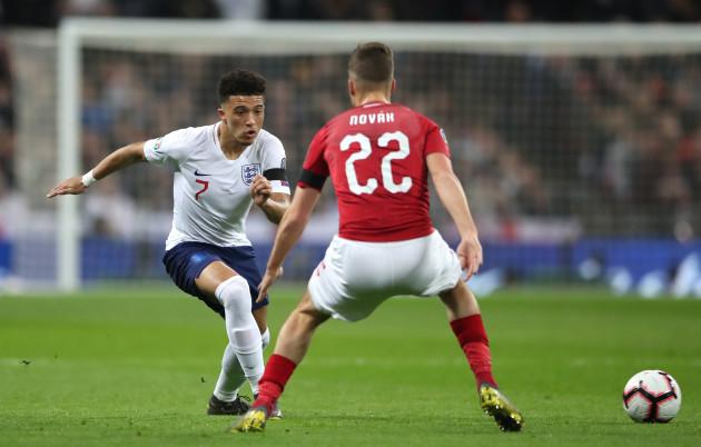 England v Czech Republic - UEFA Euro 2020 Qualifying - Group A - Wembley Stadium