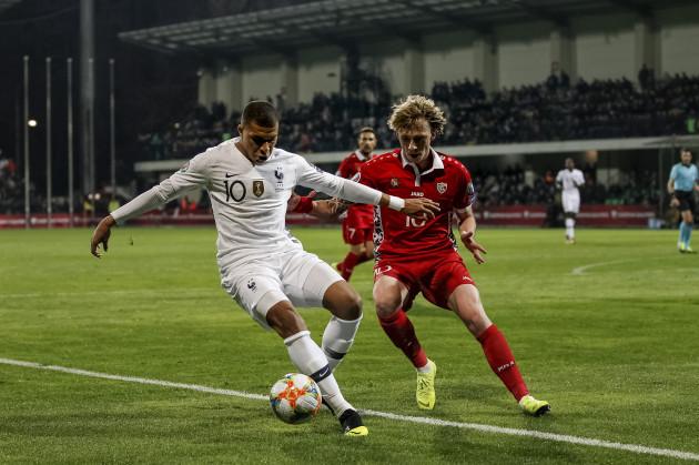 Moldova France Euro 2020 Soccer