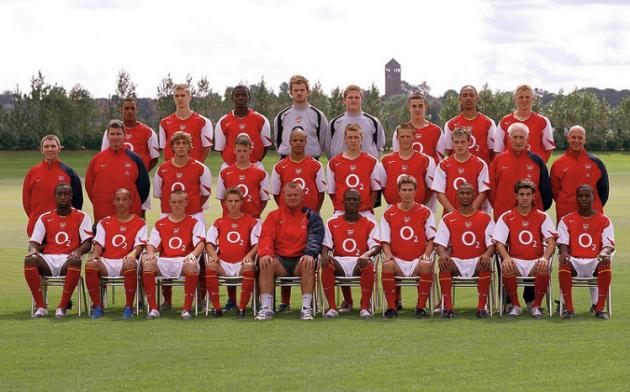 Arsenal youths 2004-05