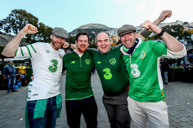 Aidan O'Connor, Rory Shields, Brian Holland and Peter Kinnevey