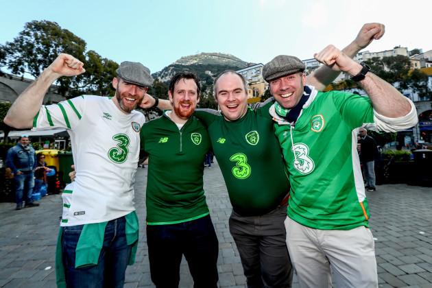 Aidan O'Connor, Rory Shields, Brian Holland and Peter Kinnevey