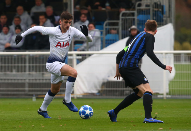 United Kingdom: Tottenham Hotspur v FC Internazionale - UEFA Youth League