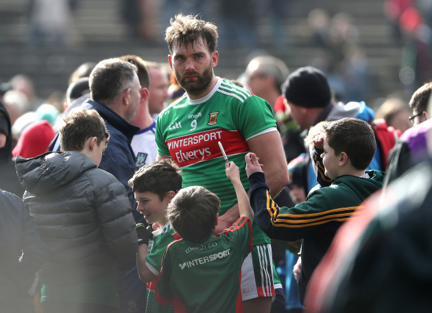 Aidan O'Shea after the game