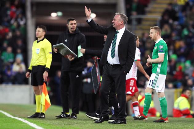 Northern Ireland v Belarus - UEFA Euro 2020 Qualifying - Group C - Windsor Park