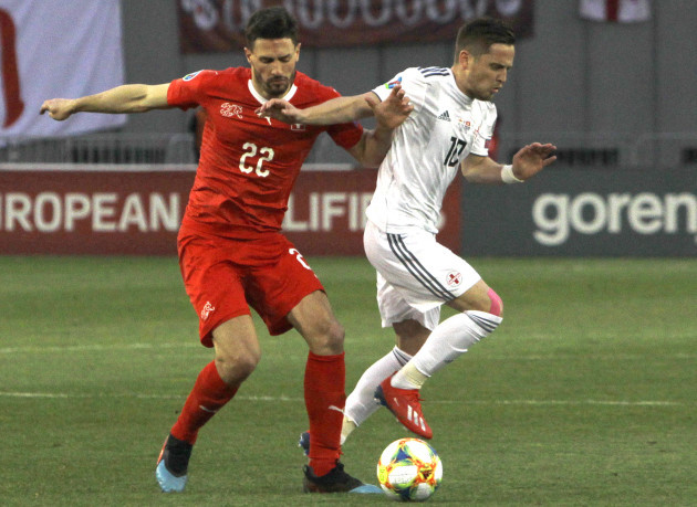 Georgia Switzerland Euro 2020 Soccer