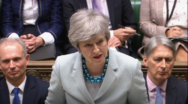 Theresa May Brexit statement