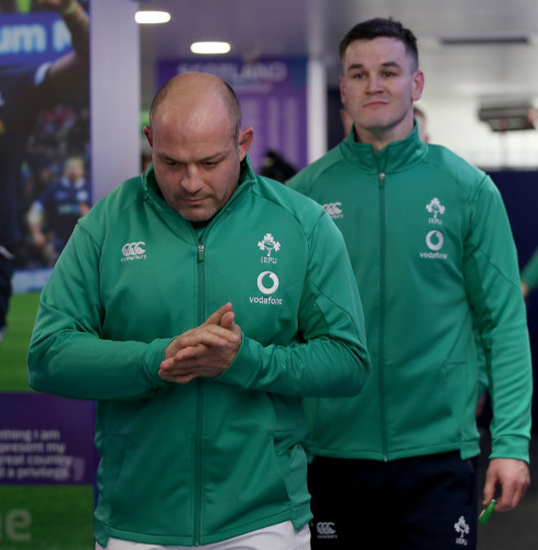 Rory Best and Johnny Sexton