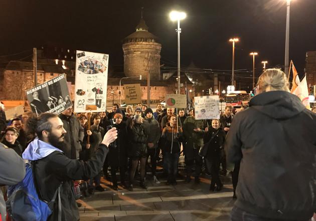 Demo against copyright reform in Nuremberg