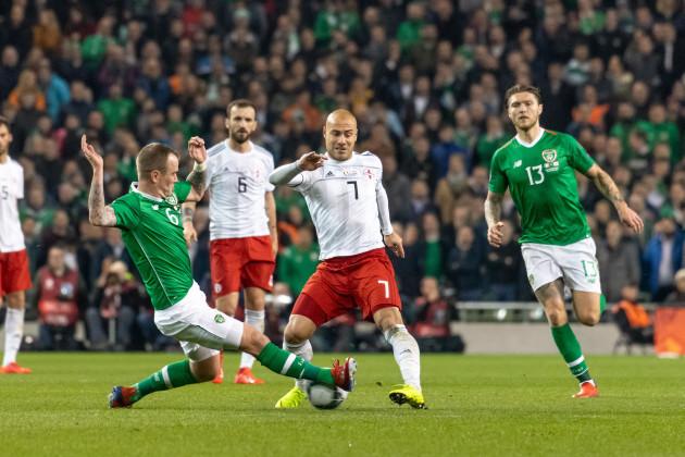 Ireland v Georgia at the Aviva Stadium in Dublin, Ireland - 26 Mar 2019
