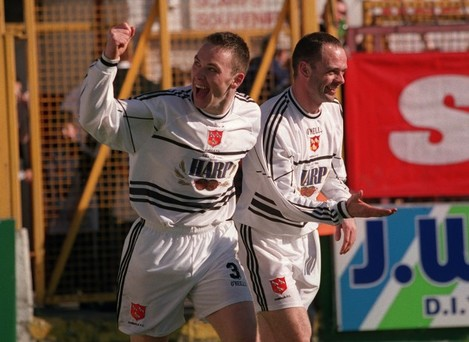 David Crawley and Garry Haylock 7/4/2002