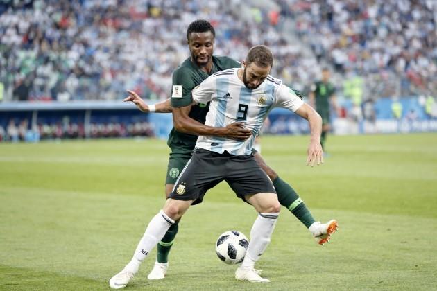 Russia: Nigeria vs Argentinia