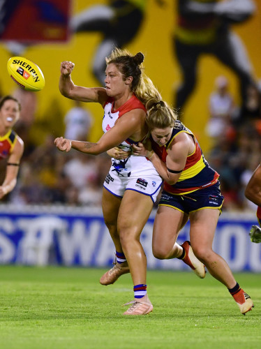 AFLW CROWS BULLDOGS
