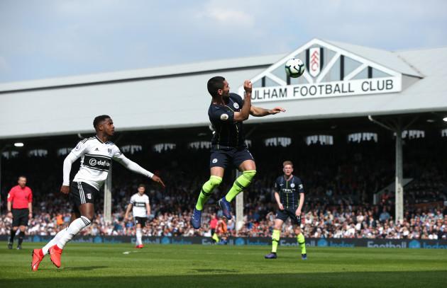 Fulham v Manchester City - Premier League - Craven Cottage