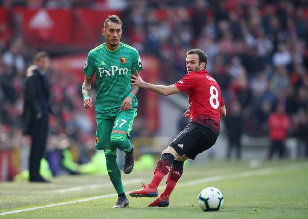 Manchester United v Watford - Premier League - Old Trafford
