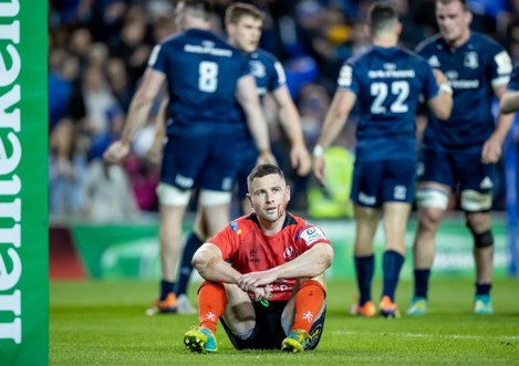 John Cooney dejected after the game