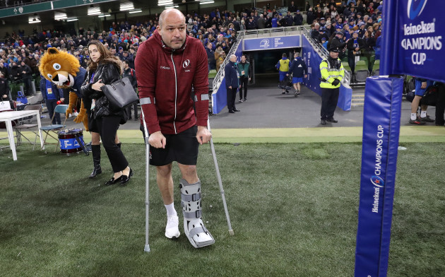 Rory Best dejected after the game