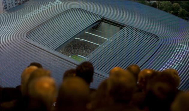Spain Soccer Real Madrid Stadium