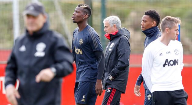 Manchester United Training - AON Training Complex