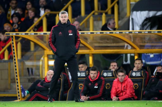 Wolverhampton Wanderers v Manchester United - Premier League - Molineux Stadium