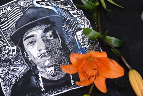 Memorial For Rapper Nipsey Hussle